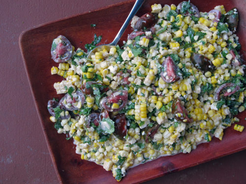 Mexican-Style Corn Salad