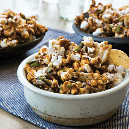 Sweet Spicy Salty Snack Mix