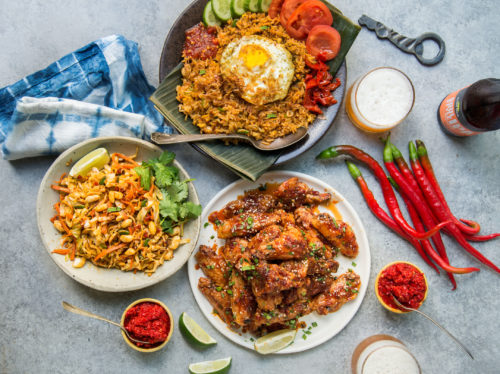 Indonesian-Inspired Fried Rice With Sambal