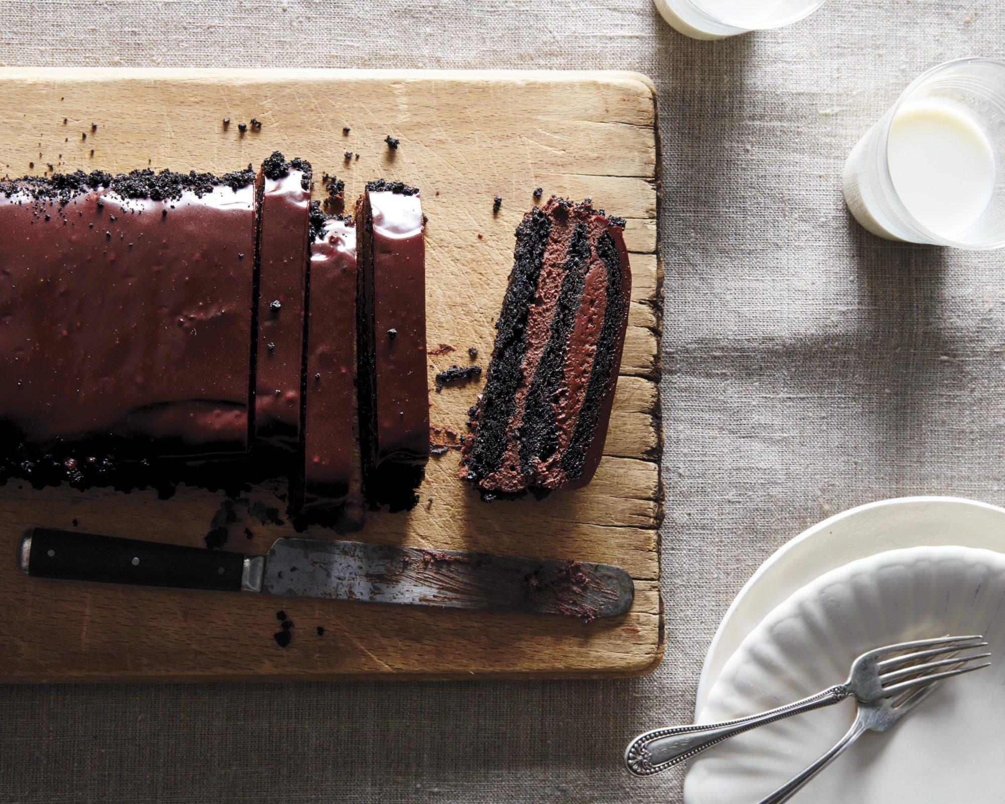 Brooklyn Blackout Semifreddo Cake