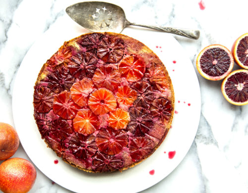 When Life Gives You Blood Oranges, Make Almond Cake