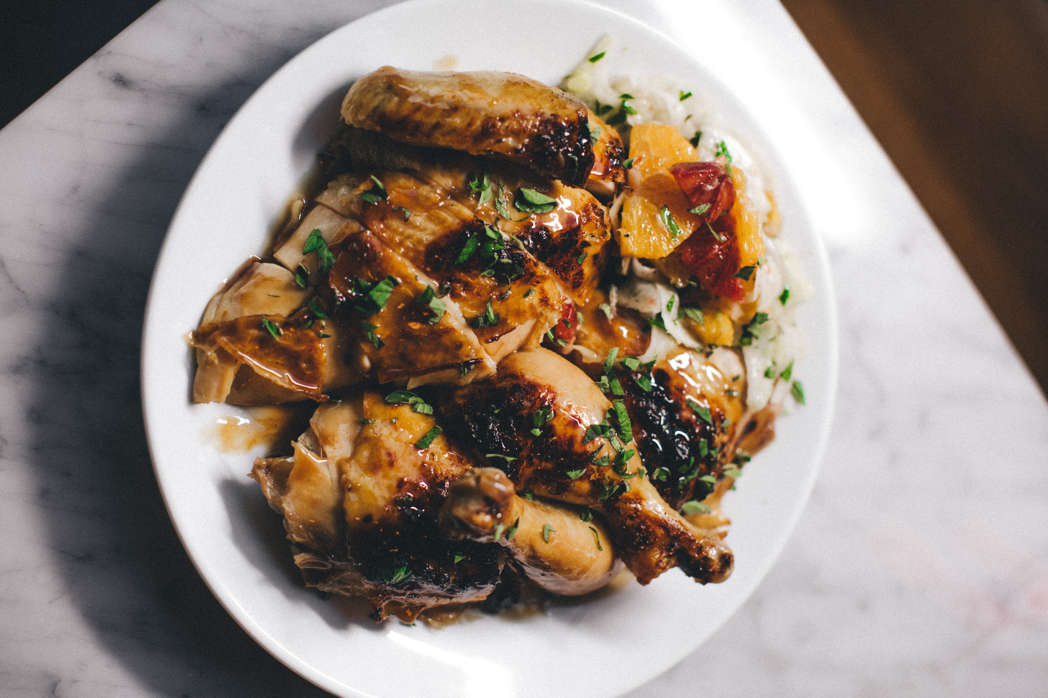 Roasted Chicken Pan Drippings