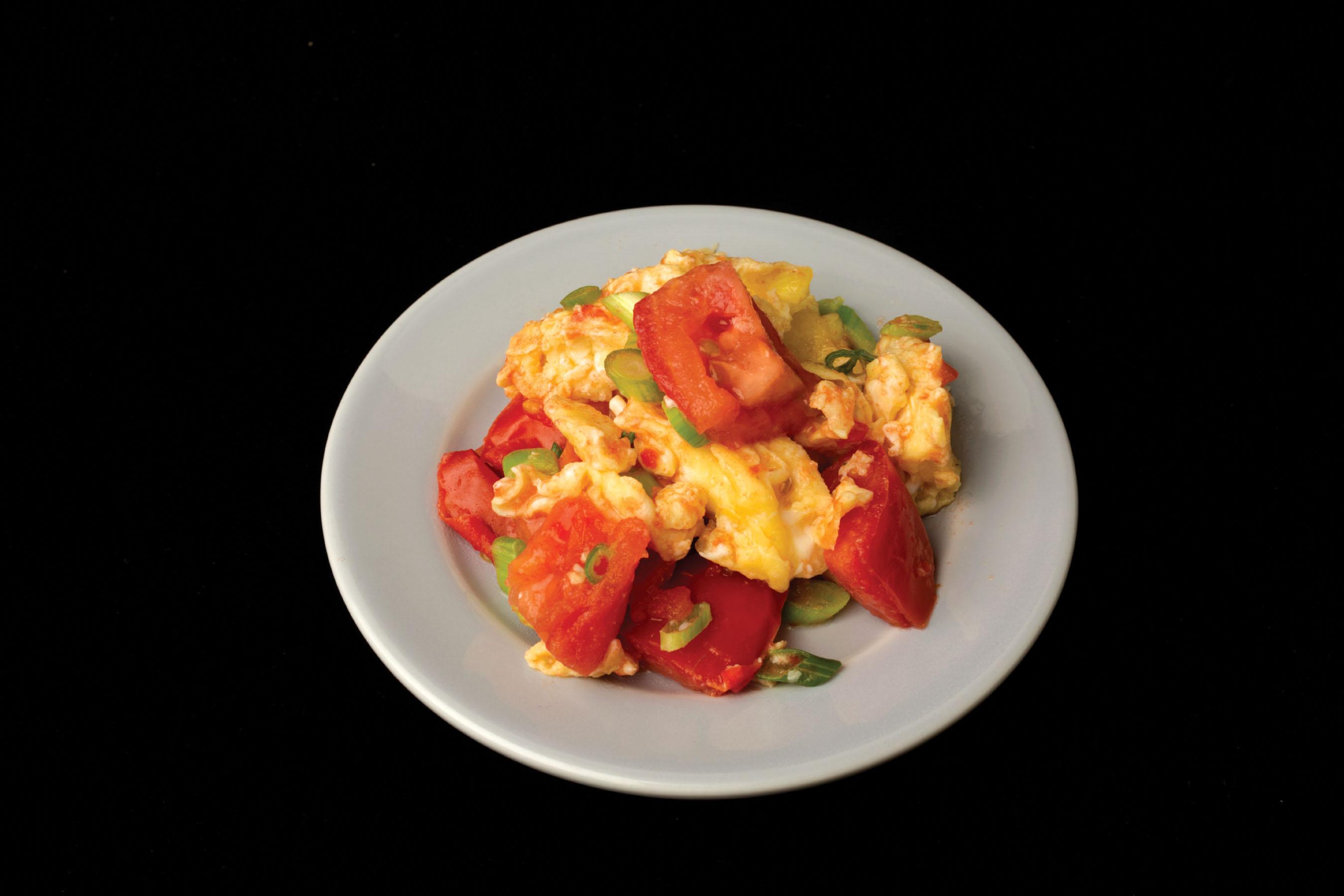 Stir-Fried Egg and Tomato