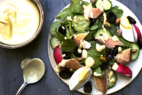 Garlicky Mustard-Lemon Vinaigrette