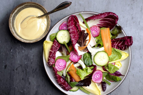 Eat More Vegetables. To Get There? Make Better Salad Dressing.