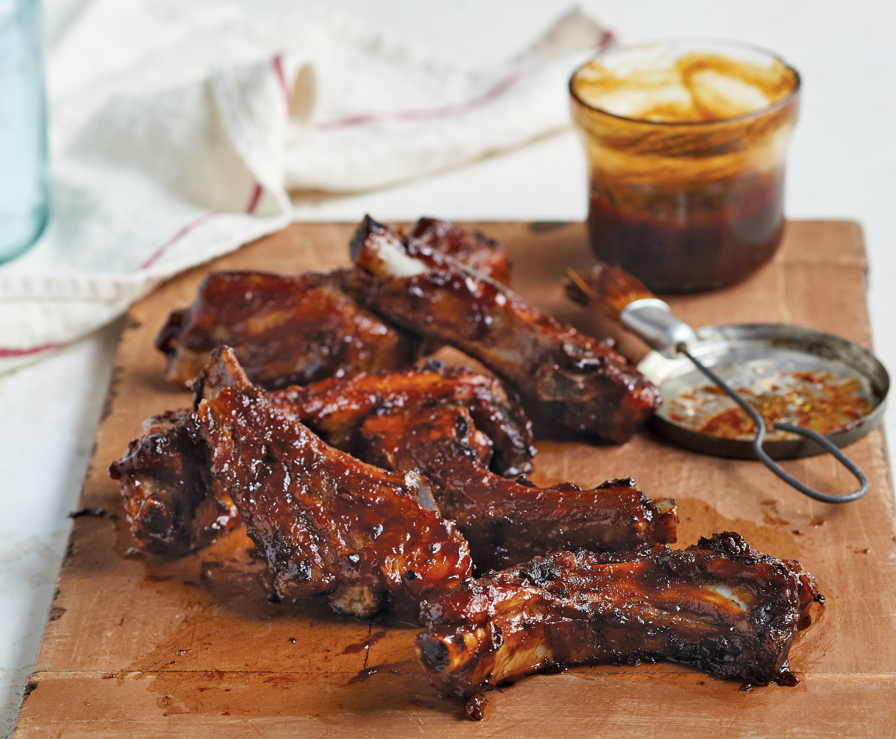 Sticky Molasses BBQ Ribs | TASTE
