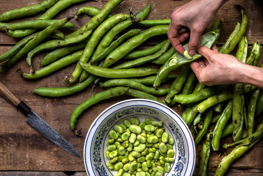 The Best Ways to Eat Fresh Favas Happen to Be the Easiest