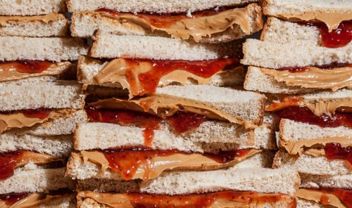 11 Years of Peanut Butter and Jelly Sandwiches