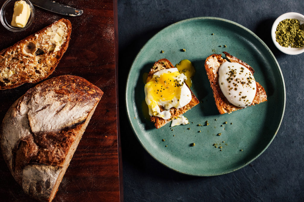 The Subtle Revolution of Matcha Poached Eggs
