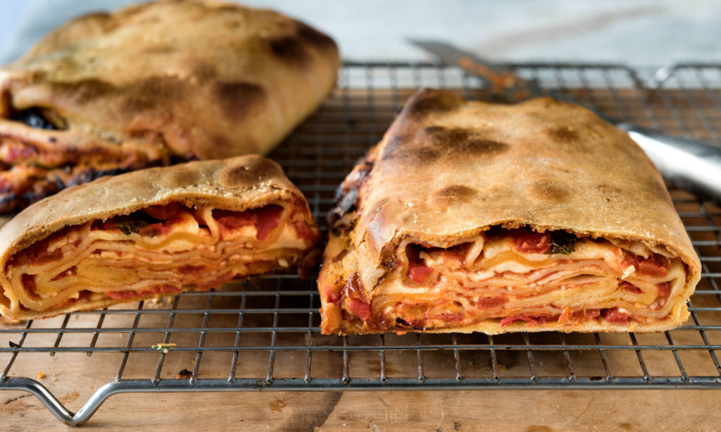 Lasagna Meets the Calzone Halfway