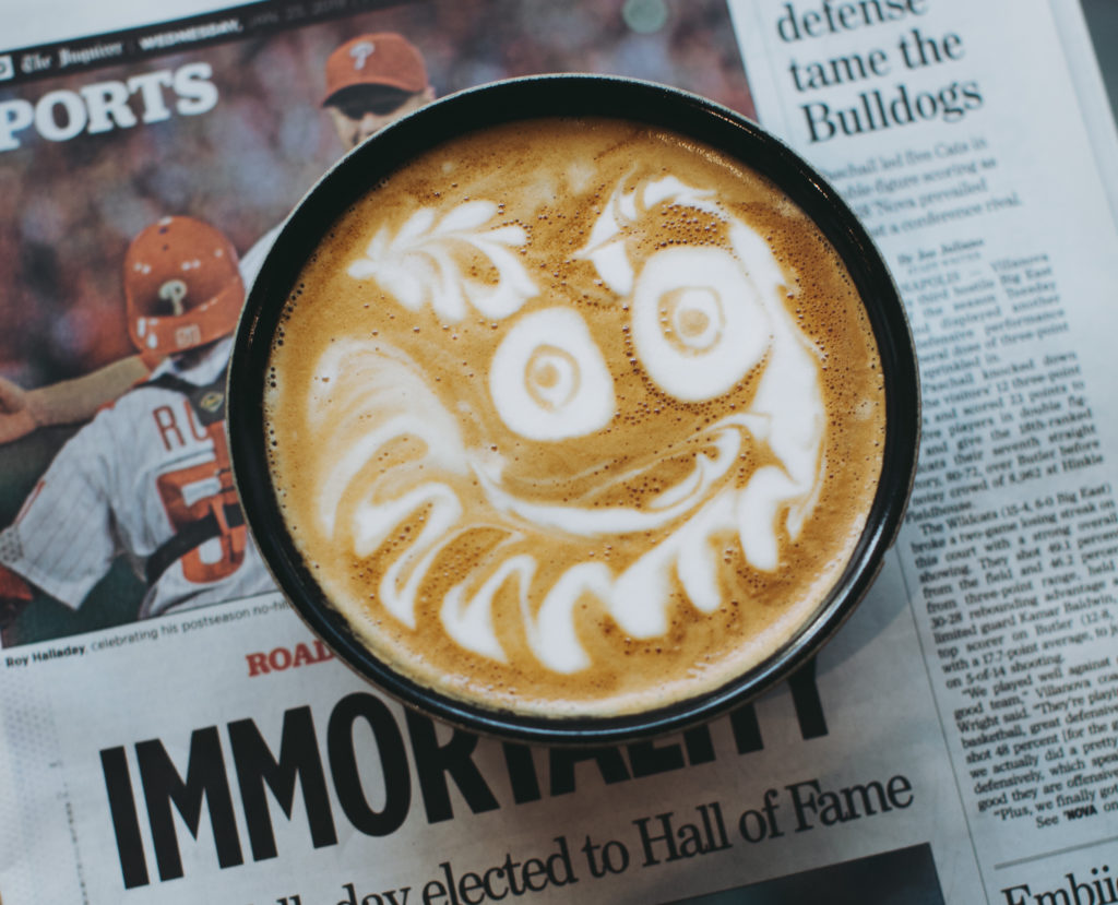 Dear Philly Baristas: Give Us Gritty
