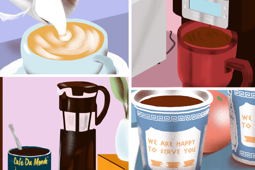 How 4 New Yorkers Make Their Morning Coffee