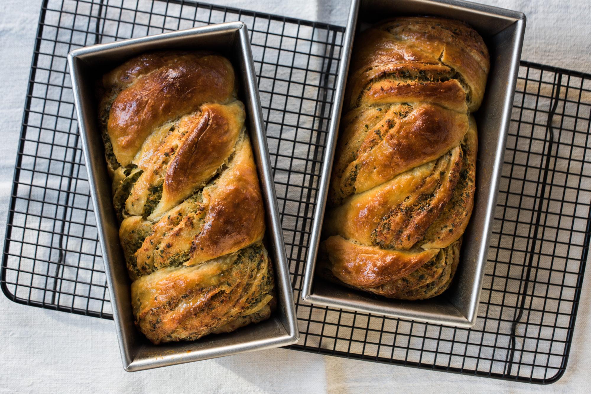 Taste – No-Kneed garlic Bread Babka