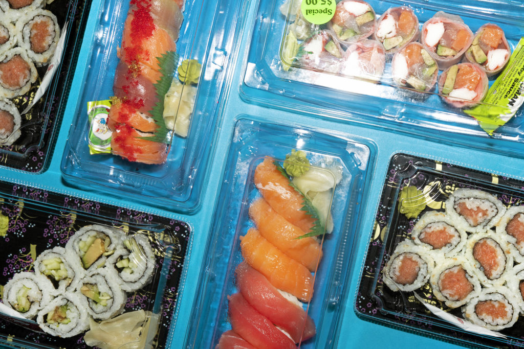 How America Warmed Up to Cold Grocery-Store Sushi