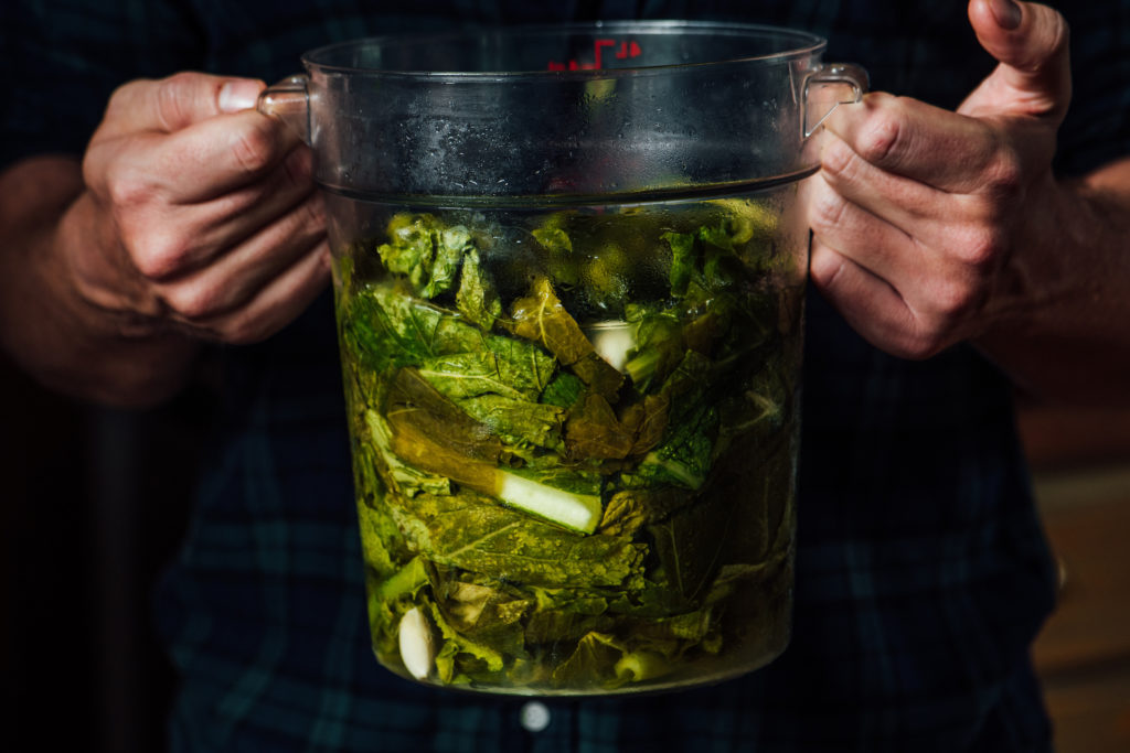 Home Is Where My Fermented Greens Are