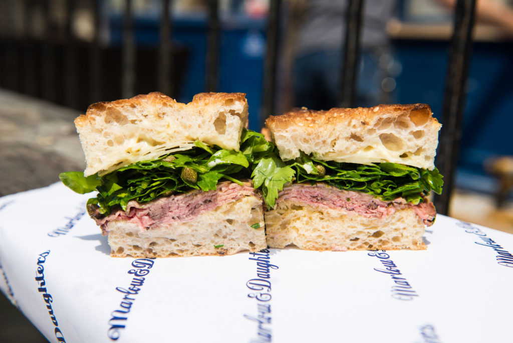 A Sandwich Queen Returns to Her Roots