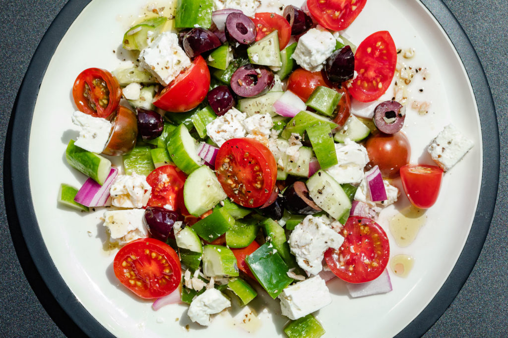 As American as the Greek Salad