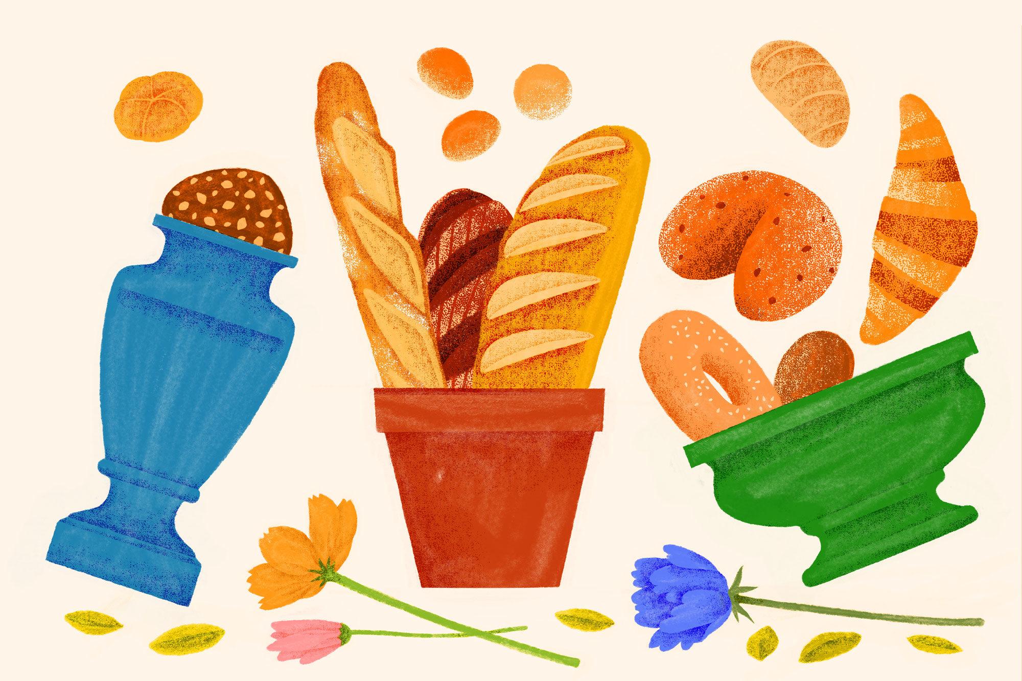 Article-Flower-Pot-Bread