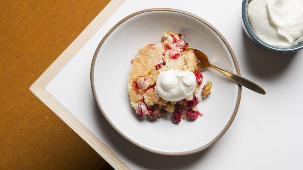 A Cranberry Pie That Takes the Cake