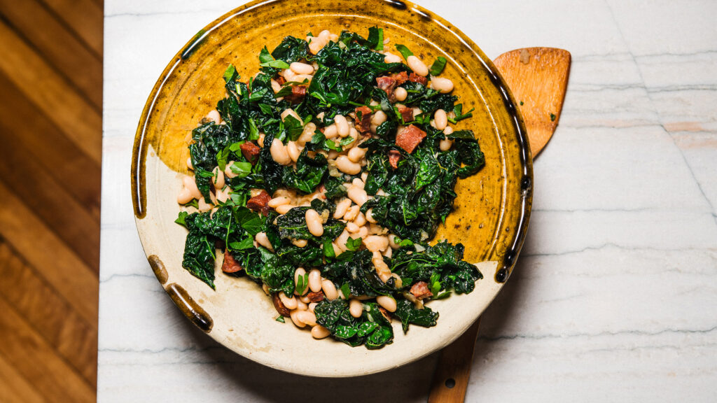 Chorizo Your Beans and Greens
