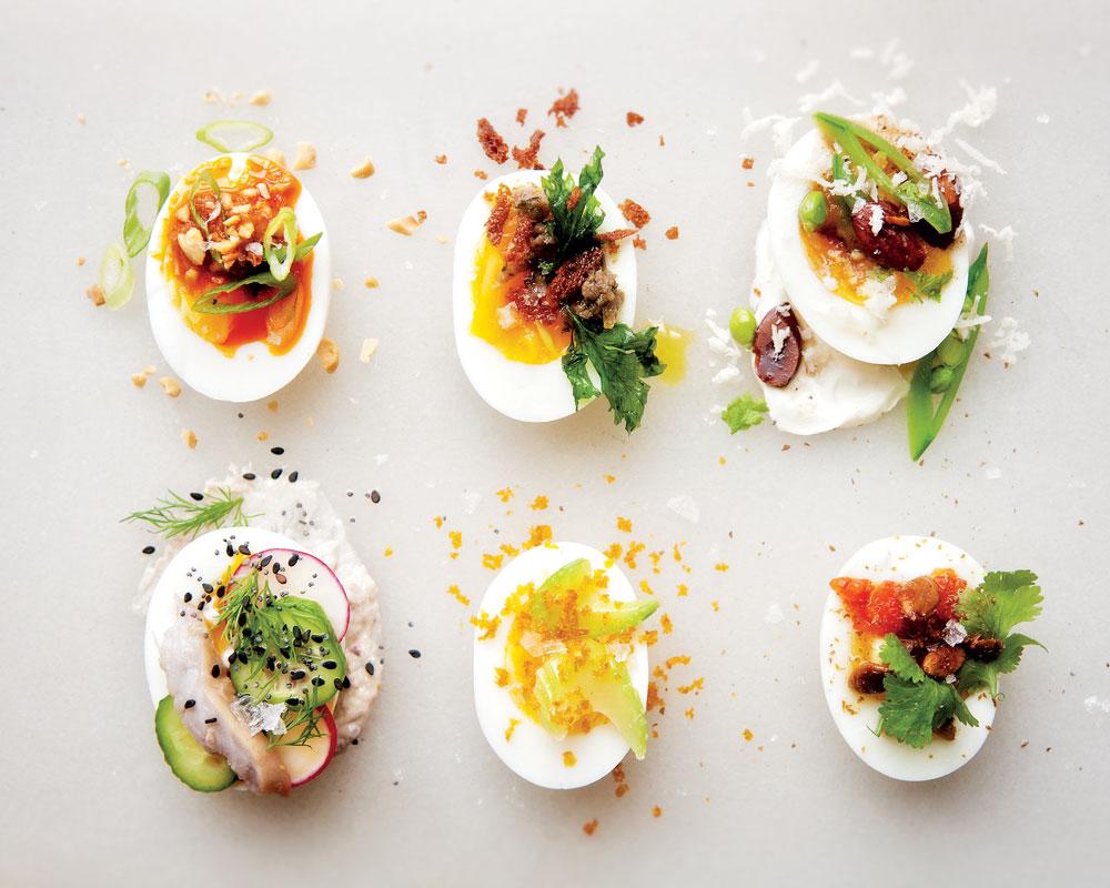 Dressed Eggs