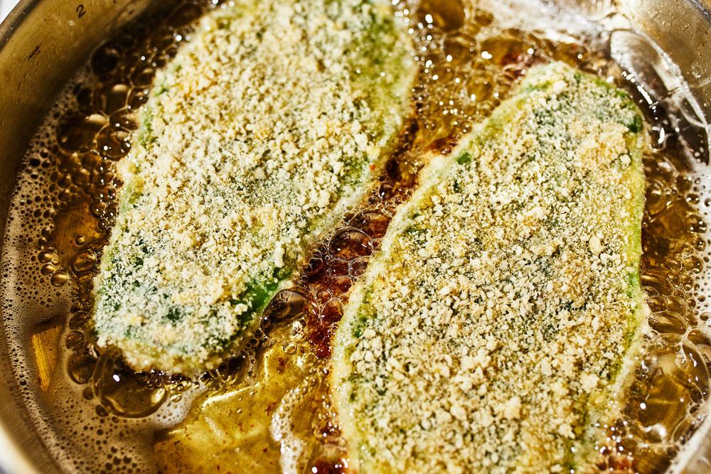 Nopales Milanese Cutlet