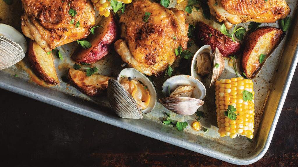 Chicken-And-Clam Bake
