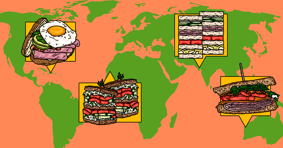 Mapping the World's Best Club Sandwiches