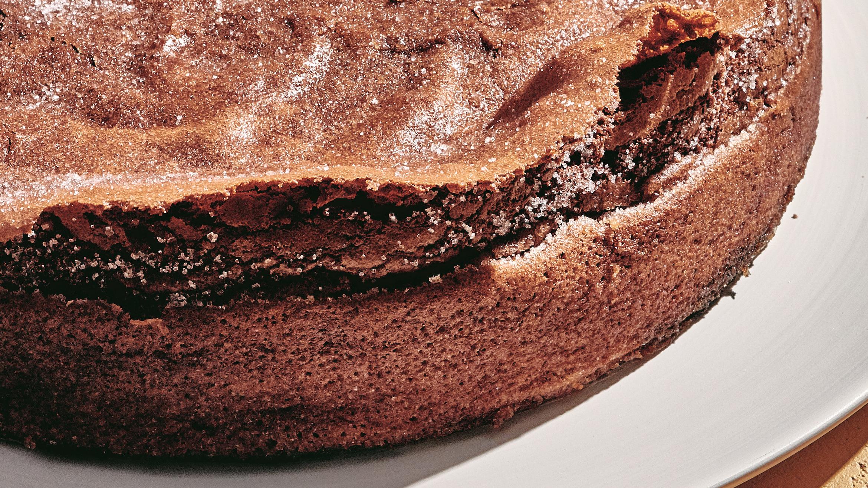 Flourless Chocolate Wave Cake Taste