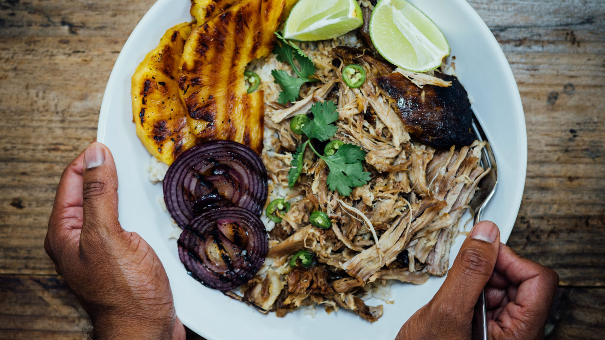 Article-Kalua-Pork-Bowl-With-Grilled-Pineapple-Nik-Sharma