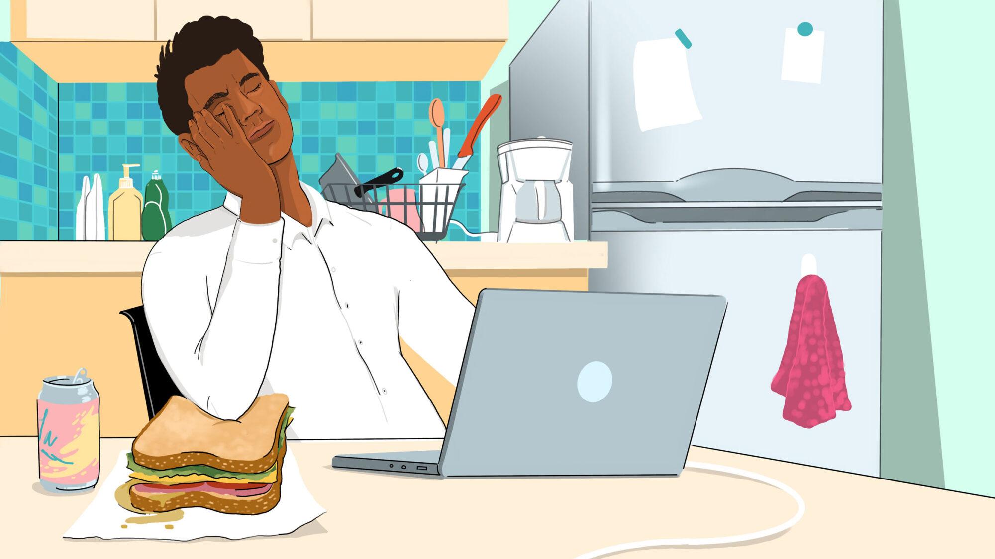 Article-Sad-Desk-Lunch-WFH