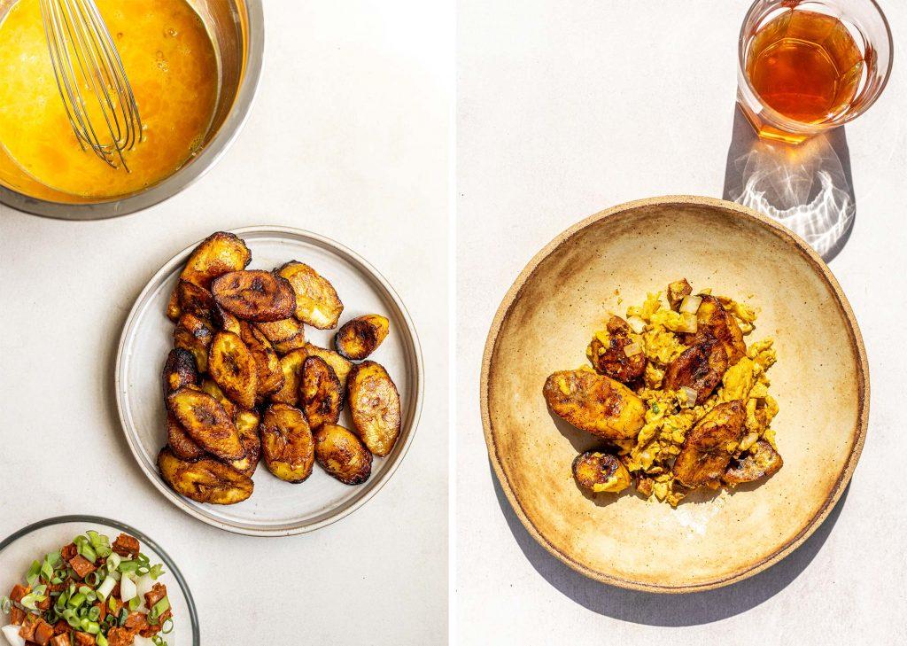 Plantain Scramble Breakfast Recipe