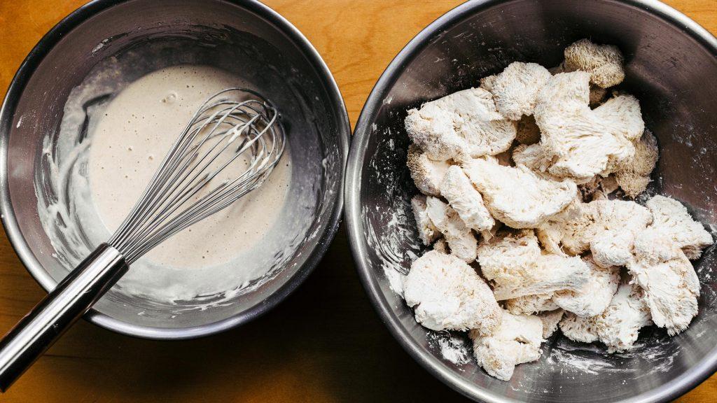 Fried Lions Mane Mushroom Recipe