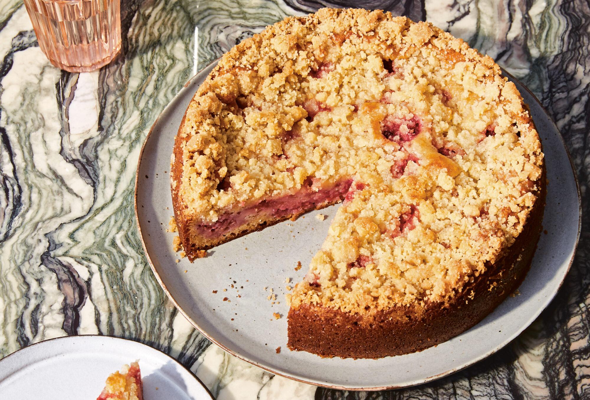 Recipe-Raspberry Coffee Cake